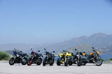Six Buell XB Models Are Refined for 2007