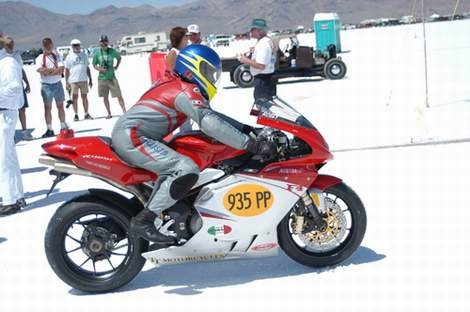 Mv Agusta Sets Bonneville Land Speed Record