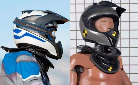 BMW Motorrad Neck Brace System to revolutionise motorcycle safety
