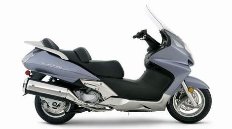 Honda Launces New Silver Wing 125 Scooter