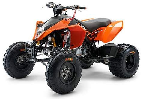 KTM Presents The First ATV Models In The USA