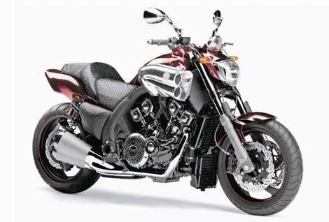 New Yamaha V-Max set to go into production in 2009