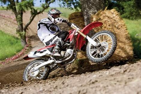 Honda CRF450R 2008 More Agile Than Ever