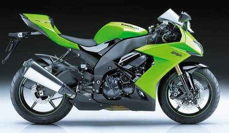 New Kawasaki Ninja ZX-10R 2008 Released